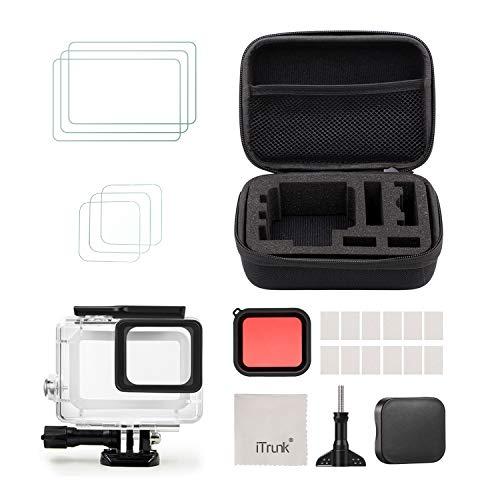 style de mode limpide en vue haut de gamme authentique [Free shipping]iTrunk Accessories kit Compatible for GoPro Hero 7 Black  Hero 5
