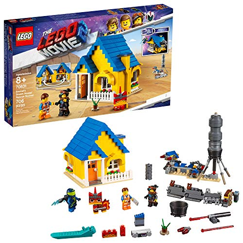 free shipping LEGO THE LEGO MOVIE 2 Emmet's Dream House/Rescue Rocket; 70831