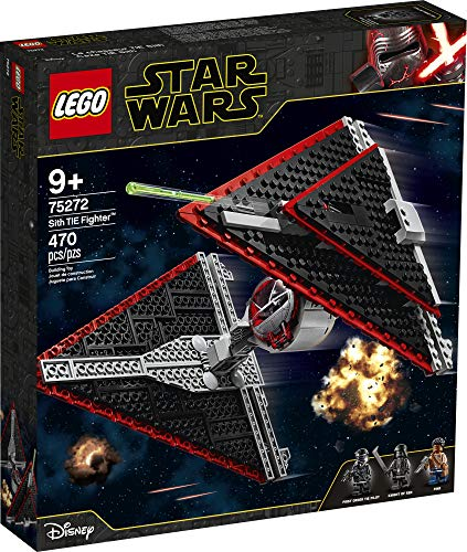 free shipping LEGO Star Wars Sith TIE Fighter 75272 Collectible Building Kit,