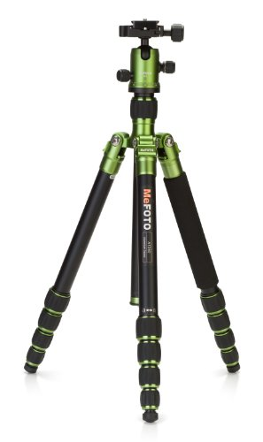 [Free shipping]MeFOTO Classic Aluminum Roadtrip Travel Tripod/Monopod Kit - Gr