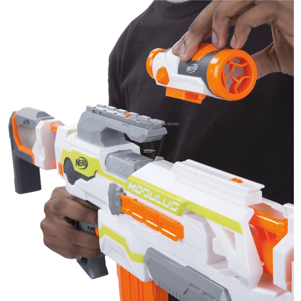 [Free Shipping] Nerf N-Strike Modulus Ecs-10 Blaster Dart Gun Games