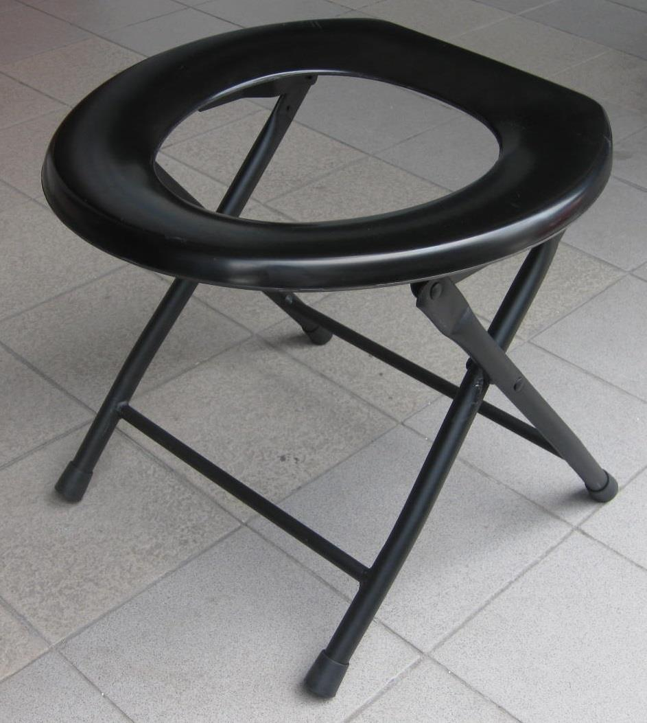 Free Shipping! Simple commode chair toilet aid kerusi tandas