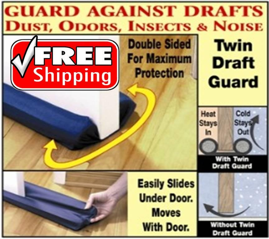 Twin Door Draft Guard Alluring Free Shipping Twin Draft Door Guard End 4212016 216 Pm Design Inspiration