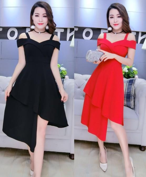 FREE SIZE Elegant Ladies Mini/Party Dress