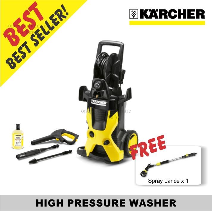 Best Pressure Washer 2020.Free Spray Lance X 1 Karcher High Pressure Washer K5 Premium