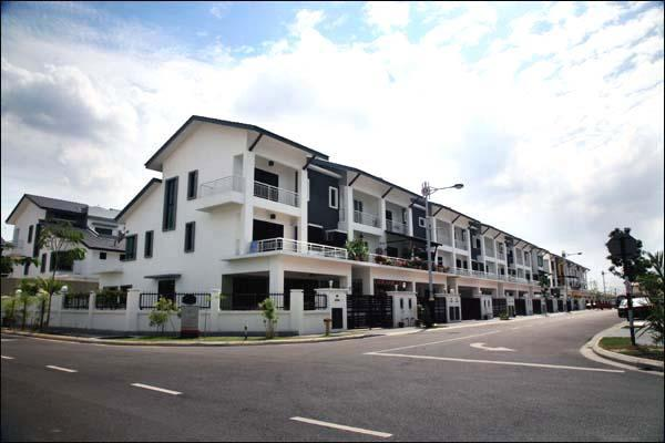 Freehold Brand New 2.5 Storey House for sale, Taman Meranti Jaya