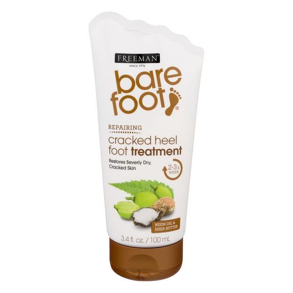 Freeman Bare Foot Cracked Heel Foot Treatment Neem Oil & Shea Butter (
