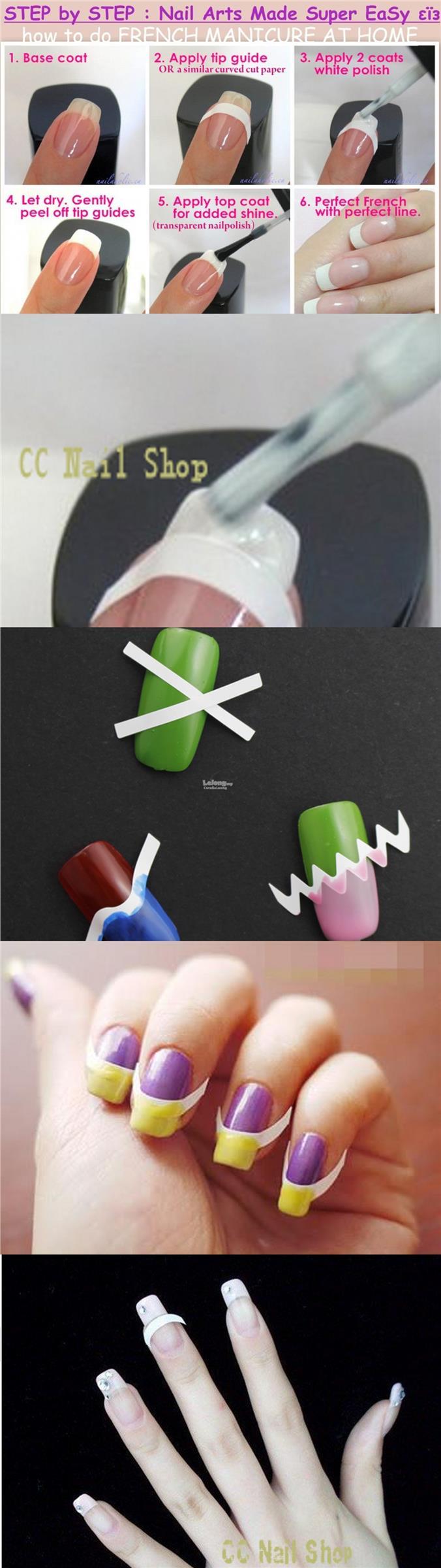 Magnificent Nail Tip Guides Ornament - Nail Art Design Ideas ...
