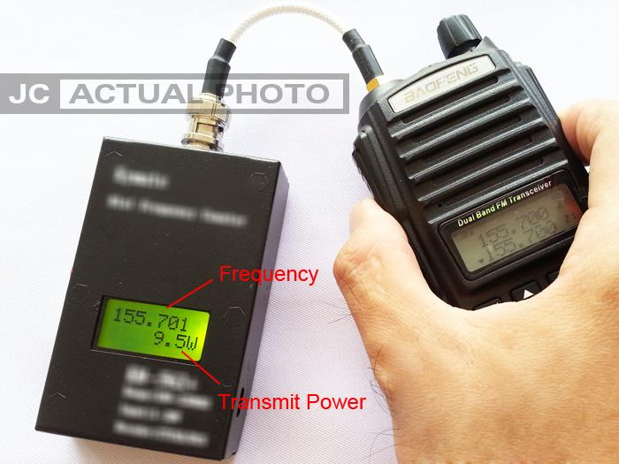 Frequency Counter Meter DCS CTCS Scanner Transmit Power Check