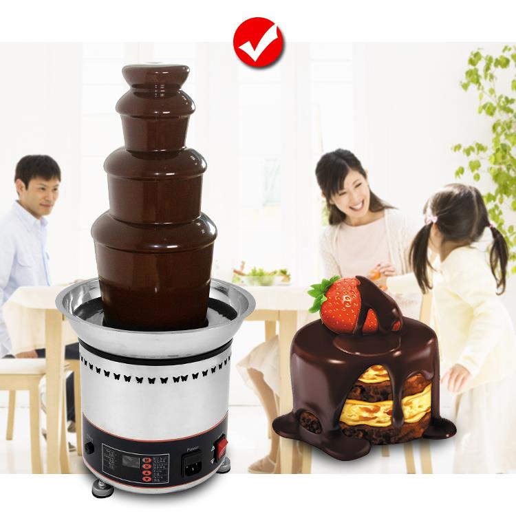 Fresco Commercial Chocolate Fountain Machine 4 Tier FRS-24A