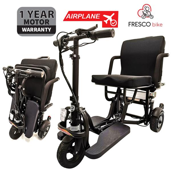Fresco Three Wheel Scooter Electric Wheelchair X2