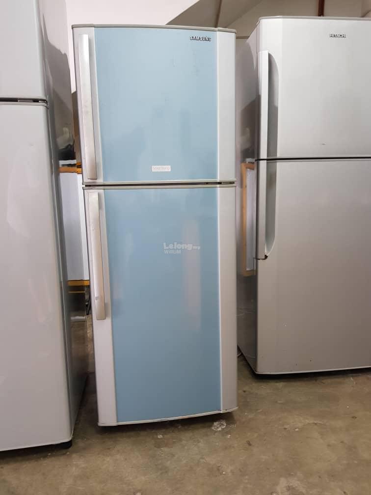 Fridge Blue Samsung Refrigerator Fre