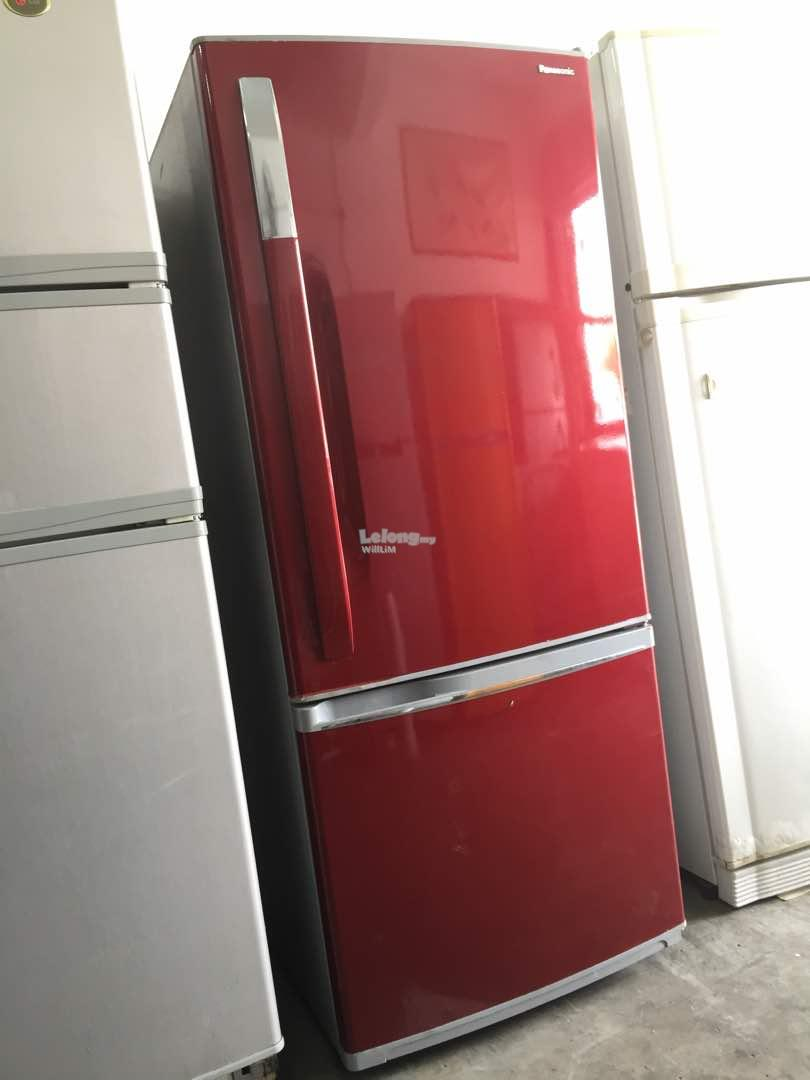 Fridge Red Panasonic Peti Sejuk Ref