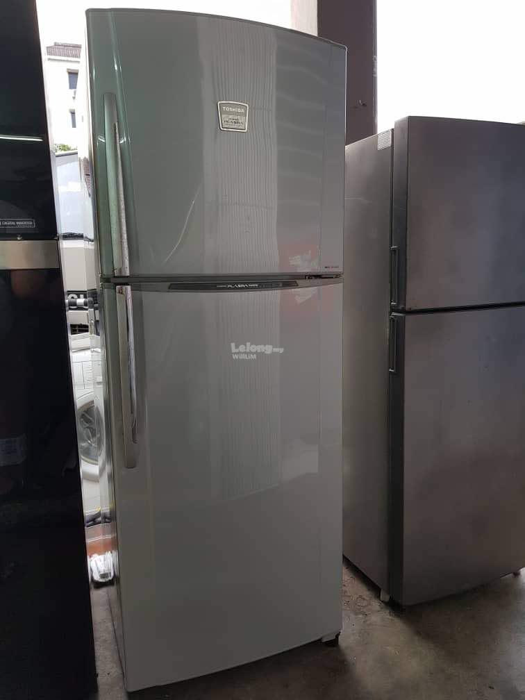 Fridge Toshiba Freezer Peti Ais Sejuk Refrigrerator Refurbish Recond