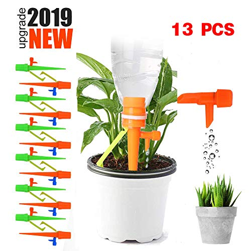 [FromUSA]akadomi 13PCS Plant Watering Devices with Slow Release Control Valve