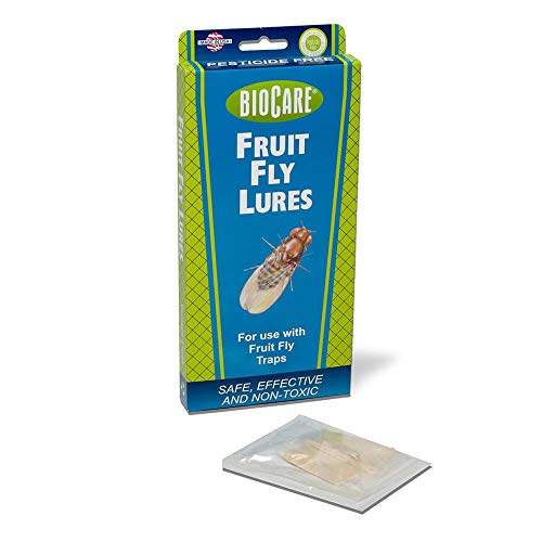 [FromUSA]BioCare Fruit Fly Lures for Use with Fruit Fly Traps Nontoxic and Pes