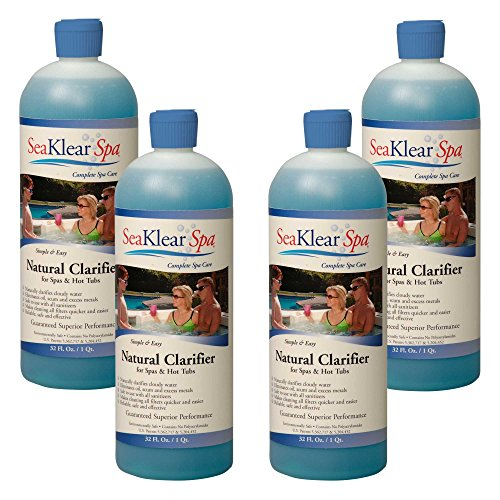 [FromUSA]SeaKlear SKSBQ-04 Natural Clarifier for Spas and Hot Tubs (4 Pack) 1