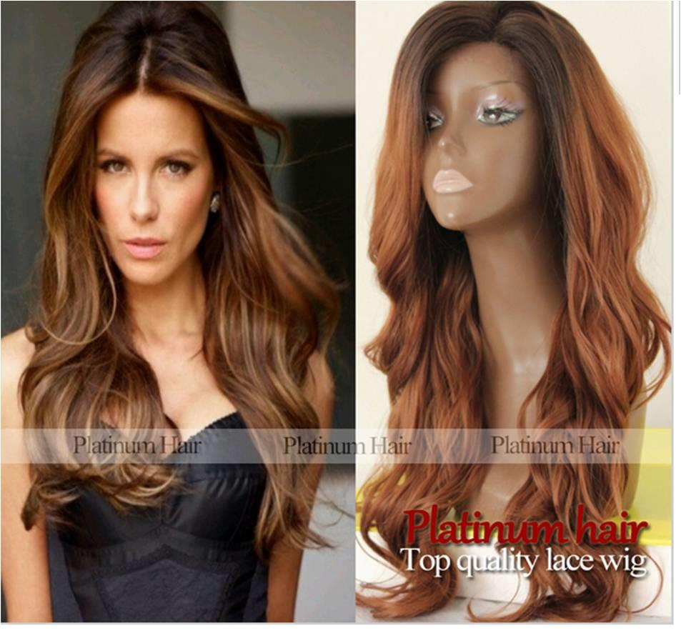 Front lace wig 130 ready stock