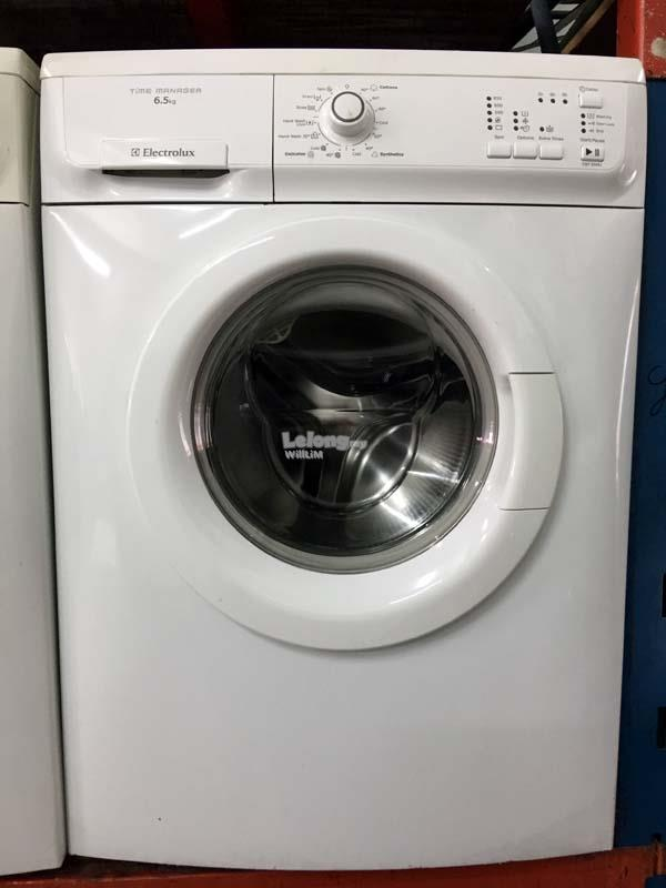 Front Load Mesin Basuh Recond Automatic Electrolux Hot Wash 6.5kg