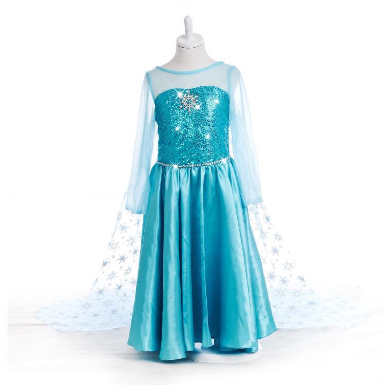 Frozen Dress Crown Magic Wand Wig