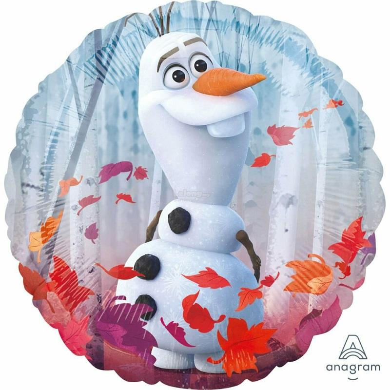 Frozen II 17in Foil Balloon 2-sided design 40386 Anna Elsa Olaf