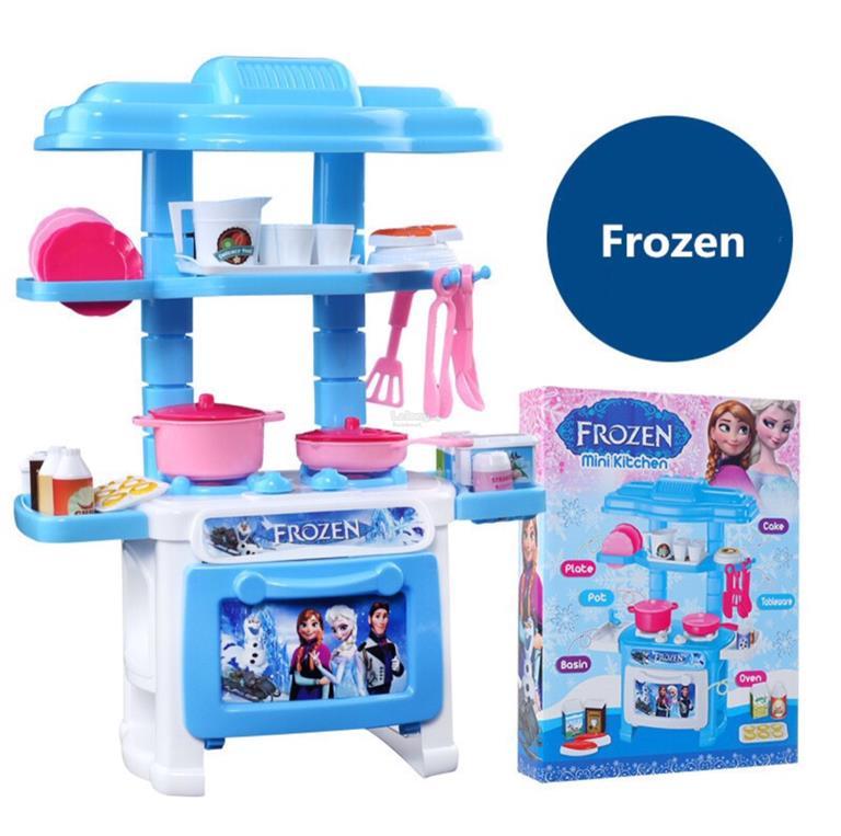 Mini Kitchen Toy: Frozen Mini Kitchen Cooking Pretend (end 6/27/2019 1:15 PM