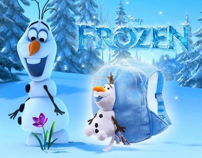 FROZEN OLAF 3D BAG