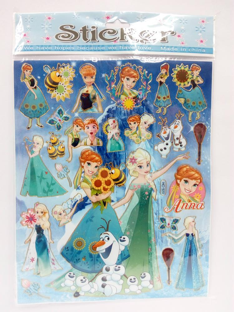 Frozen Stickers X 5 pieces