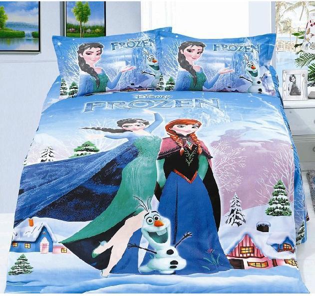 Beau FROZEN Super Single 1.2m Fitted Bedsheet