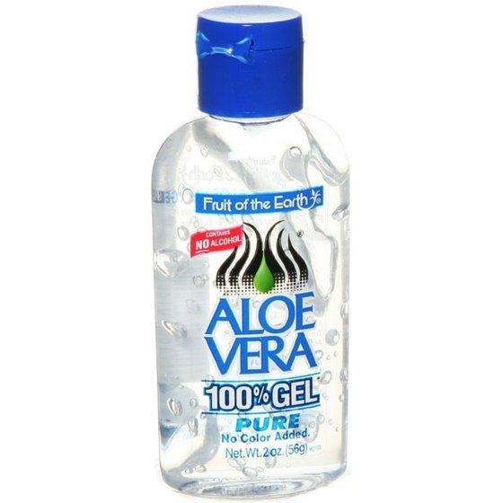 100 aloe vera gel