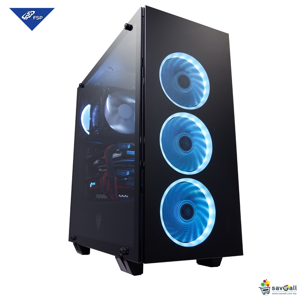 FSP ATX Mid Tower Tempered Glass RGB (end 9/12/2020 7:00 PM