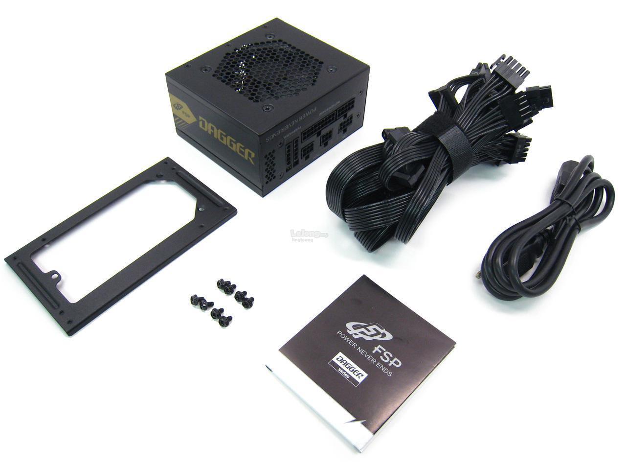 # FSP Dagger Series 600W 80+ Gold SFX Fully Modular Power Supply #