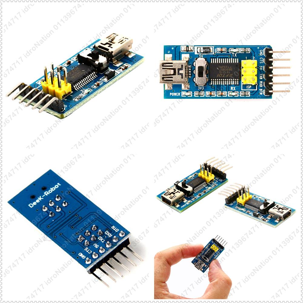 FT232RL FTDI Basic USB to TTL Serial Adapter Module Arduino 3.3V 5V