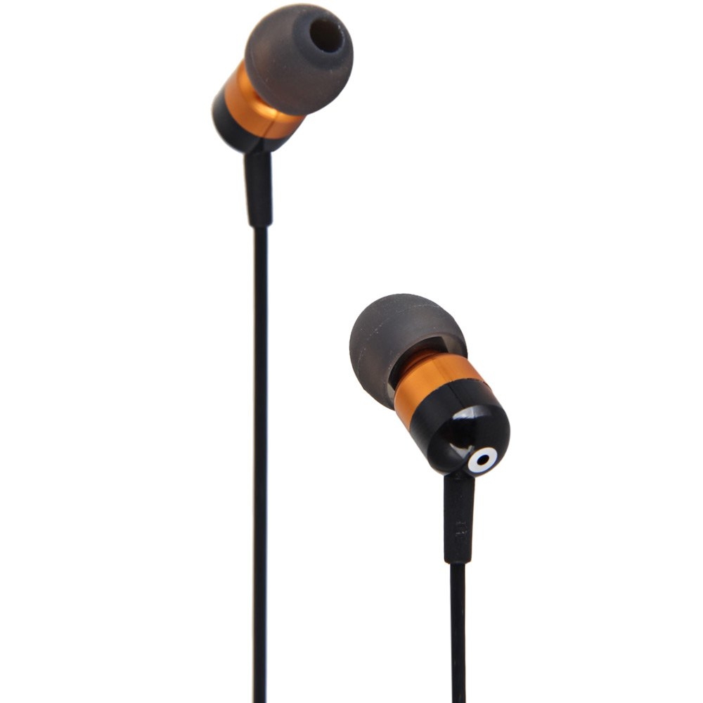 FTX F803 GOOD SOUND QUALITY ROUND WIRE EARPHONE WITH MIC 1.2M IN-EAR G..