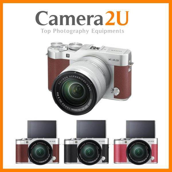 Fuji Fujifilm X-A3 16-50mm II Lens + 16GB +Bag+Extra Battery(MSIA) XA3