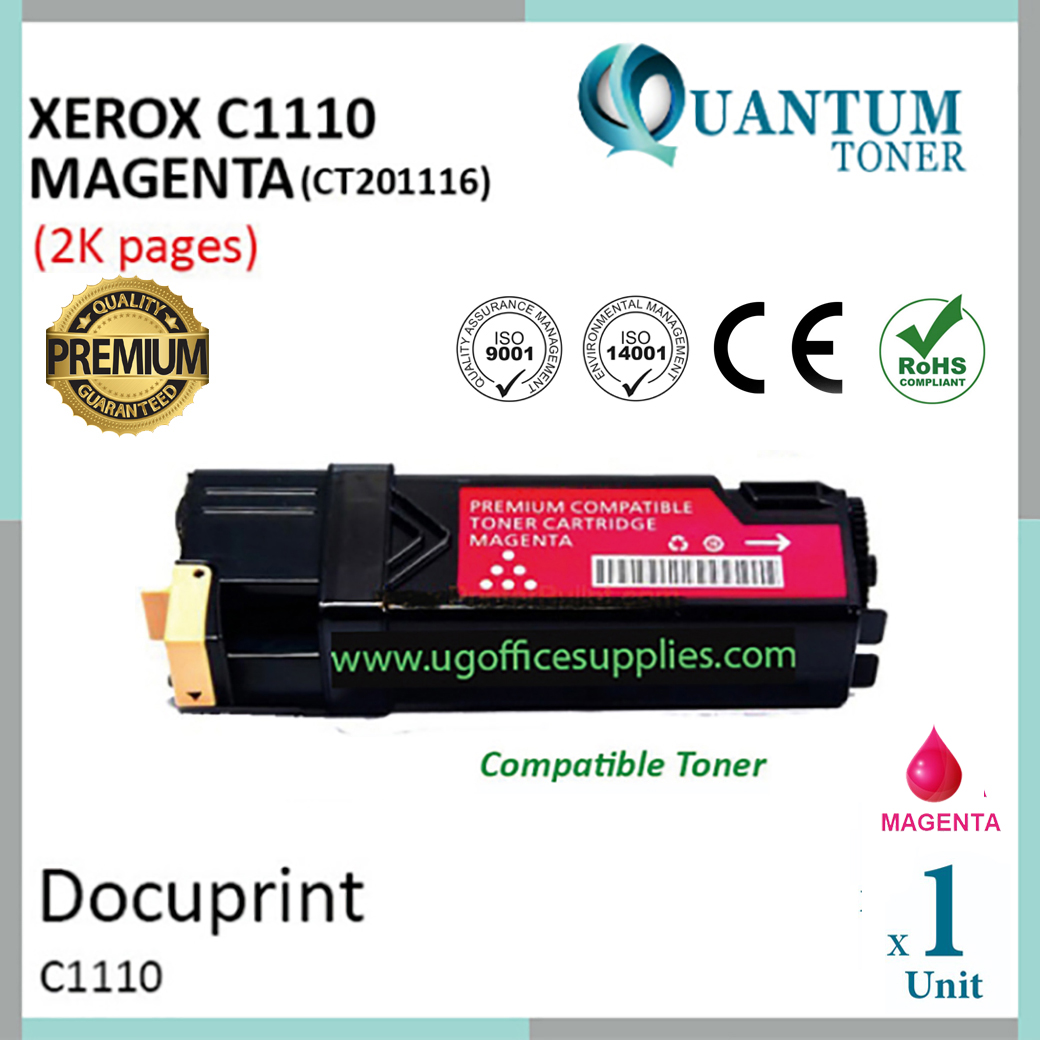 Fuji Xerox C1110 / C1110B / CT201116 MG High Quality Compatible Color Laser To