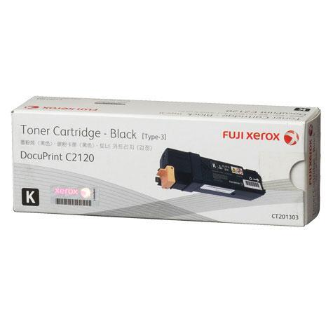 Fuji Xerox Cartridge CT201303 Genuine Black C2120 DPC2120 2120 201303