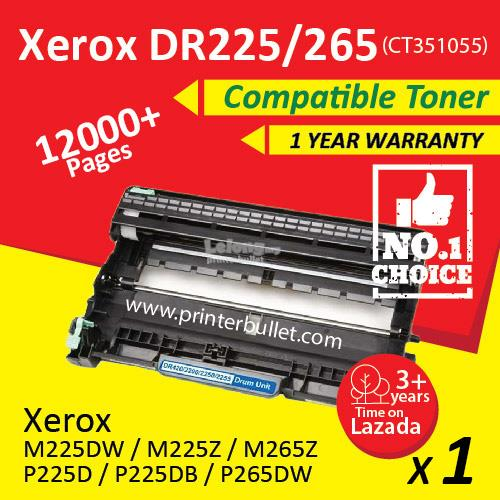 Fuji Xerox Compatible Drum Unit For Printer P225 / P225d /  P225db