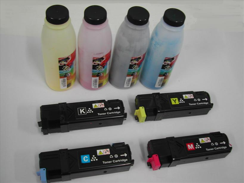 Fuji Xerox Docuprint 1190 CMYK/COLOR toner cartridge Refill