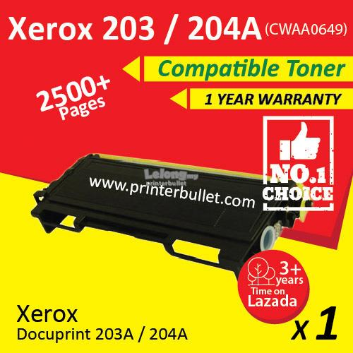 FUJI XEROX DOCUPRINT 203A/204A PRINTER DRIVER