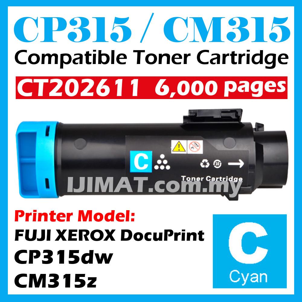 Fuji Xerox DocuPrint 315 CP315 CM315 CP315dw CM315z Compatible Toner