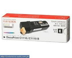 FUJI XEROX DocuPrint C1110 / C1110B BLACK 1110 (Genuine) CT201114
