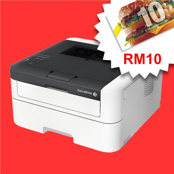 Fuji Xerox DocuPrint P225d -Single-function Duplex *FREE RM10 MCD*