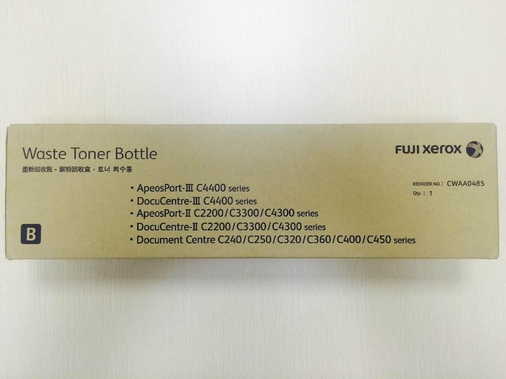 Fuji Xerox Waste Toner Bottle CWAA0485 (Genuine) 0485 APIII C4400 2200