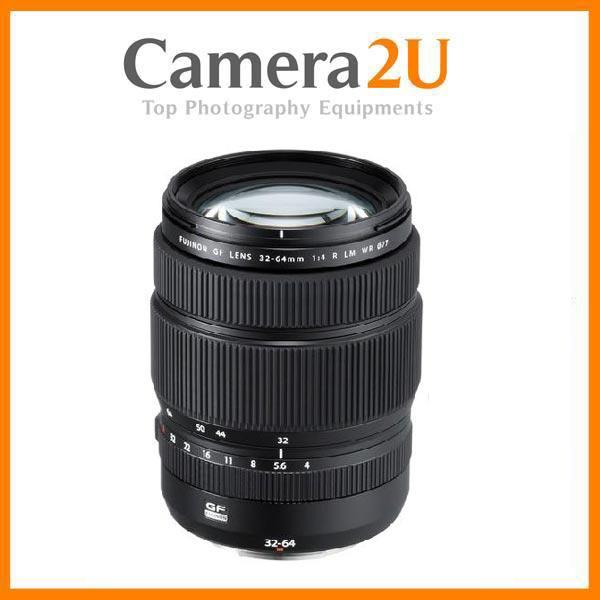 Fujifilm GF 32-64mm f/4 R LM WR Lens for GFX Camera (Import)