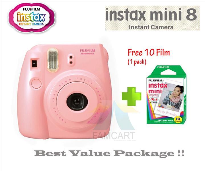 Fujifilm Instax Mini 8 Instant Film (end 6/21/2018 6:08 PM)