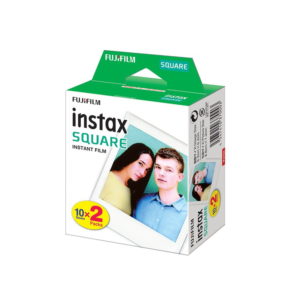 Fujifilm instax SQUARE Instant Film Twin Pack Instax Square Film (20 Exposures