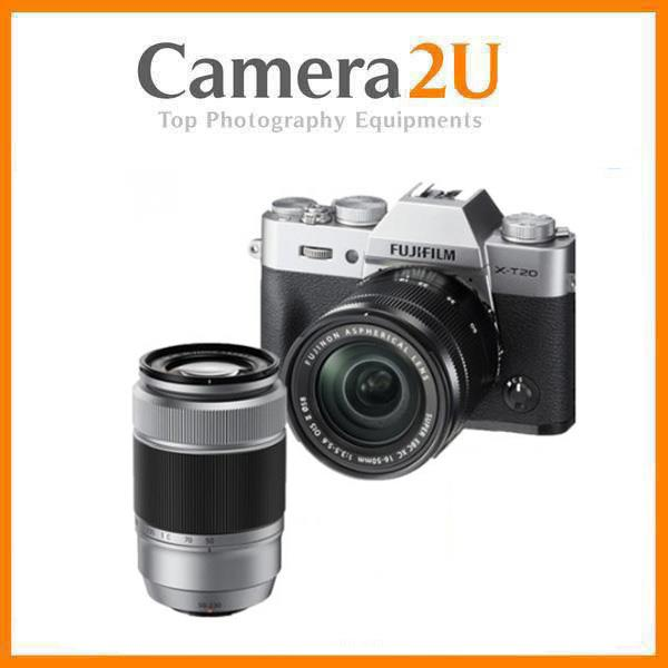 Fujifilm X-T20 with 16-50mm and 50-230mm Lens