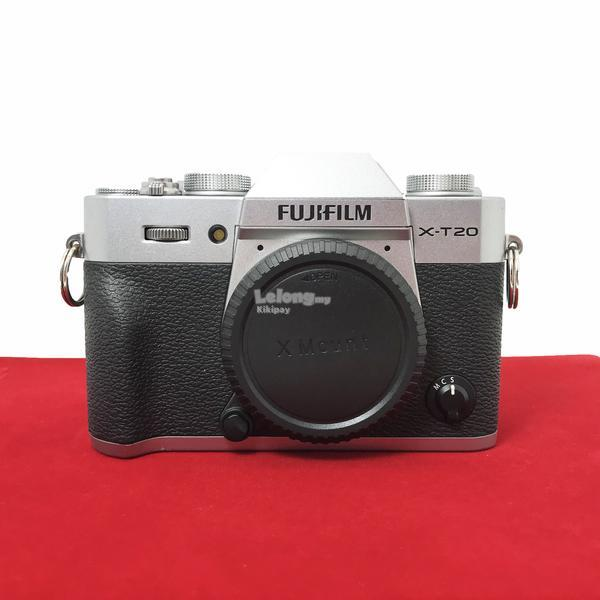 Used FUJIFILM xt20 Camera body,90% Like New Condition