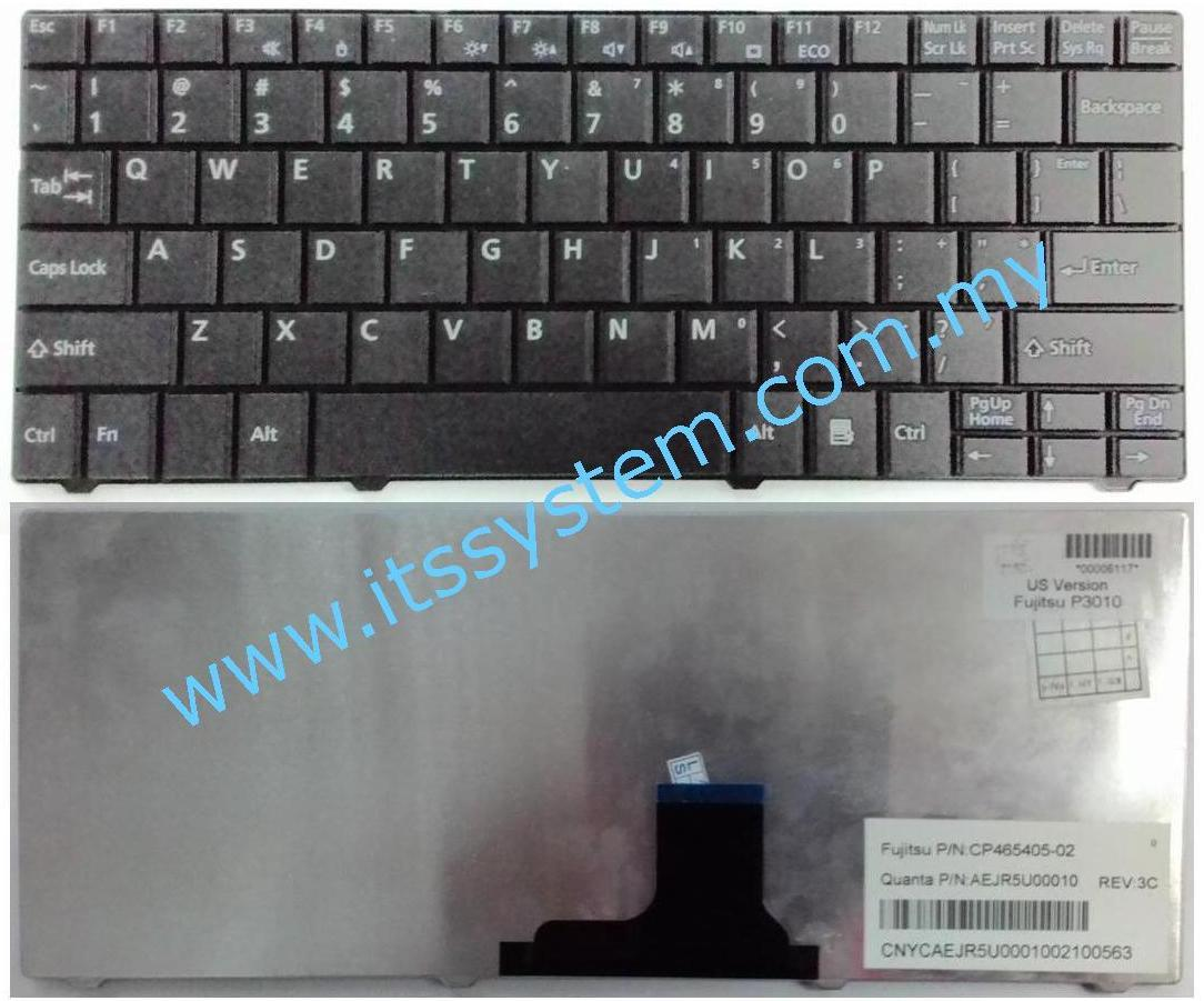 Fujitsu Lifebook P3010,3110 US Laptop Keyboard